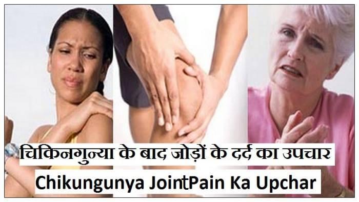 चिकनगुनिया जोड़ों के दर्द घरेलू उपचार, चिकनगुनिया के दर्द का इलाज, chikungunya ke dard ki dawa, चिकनगुनिया जोड़ों का दर्द इलाज