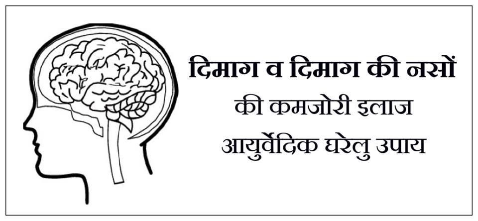दिमाग की कमजोरी का इलाज, दिमाग की कमजोरी, दिमाग की नसों की कमजोरी, दिमाग की नसों का इलाज